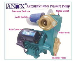 2 Hp 5-10 m Automatic Water Pressure Pump