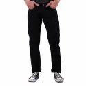 Regular Fit Black Denim Jeans