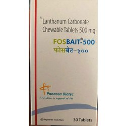Lanthanum Carbonate Chewable Tablets 500 mg