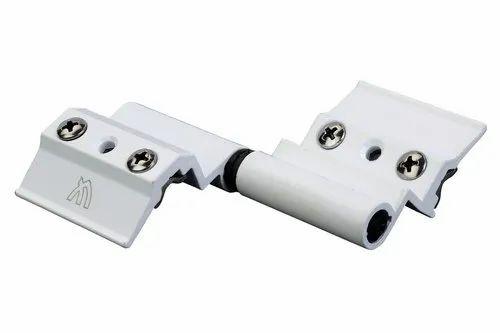 Aluminium White Butt Hinges, Size: 40mm