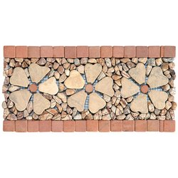 Capstona RBJ 3 Flowers Borders Tiles