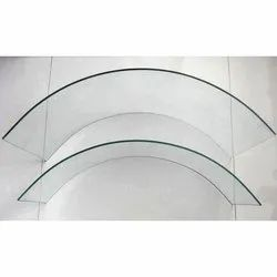 Transparent Bending Toughened Glass, Thickness: 8-19 mm