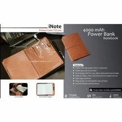 4000 MAh Power Bank Notebook