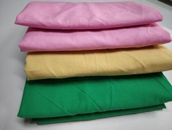 Multicolor Plain Cotton Fabric