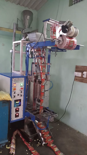 Normal Food Popcorn Packing Machine, Automation Grade: Automatic