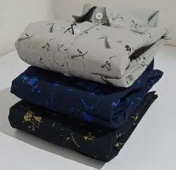 NON Cotton Casual printed shirts
