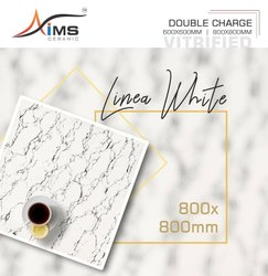 Gloss Double Charged Vitrified Tiles 800x800 mm