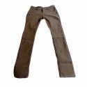 Ladies Brown Jeans, Packaging: Plastic Bag