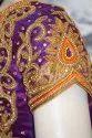 Purple Wedding Blouse