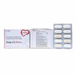 Glimepiride And Metformin Hydrochloride Tablets