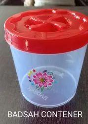 Badsah Plastic Container