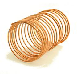 Round 100 ft standard or 500 meter Copper Capillary Tube, for Industrial