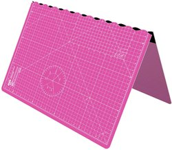 A1 Foldable Cutting Mat - Self Healing 34 inch x 22.5 inch (A1,PINK)