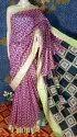 Kota Silk Temple Border Printed Sarees
