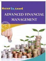 Advanced Financial Management Book