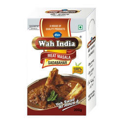Wah India 200 gm Meat Masala, Packaging: Box
