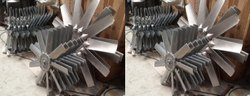 Aluminum Impeller 6 Blade Dia 1000 MM