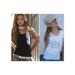 Cotton Girls T-Shirts, Size: S, M and L