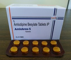 Amlodipine Besylate 5MG Tablets IP