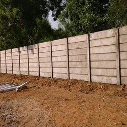 4 Feet Concrete Compound Wall