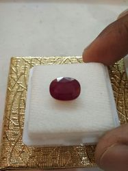 Red Ruby Stone Natural & Lab Certified