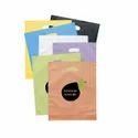 Multicolor Plain & Printed Plastic Shopping Bags, Capacity: 500gm