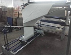 WI Double Fold Cutting With Opening Inspection Rolling Machine, Capacity: 16 Roll / Shift
