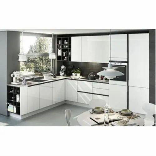 Apartment Wooden Modern Kitchen
