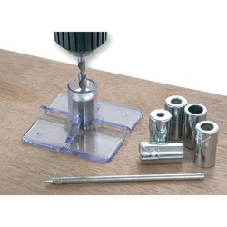 Steel Straight Shank Axminster Drill Guide Kit