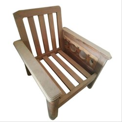 Brown Teak Wood Sofa Frame