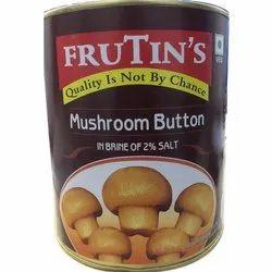 Frutin's Button Mushroom, Packaging Size: 3.1kg