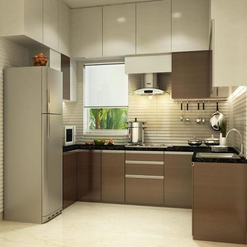 Modern Multi Colour Modular Kitchen Cabinate, Rs 25000