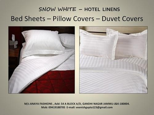 Cotton Hotel Bed Linen Bath Linen Rs 230 Piece Anaya Fashions