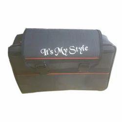 Black Motorcycle Side Bag