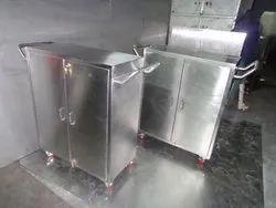 Sanipure SS Utility Carts, Capacity: 50 KGS