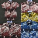 Letter Printed Casual Men's Shirt
