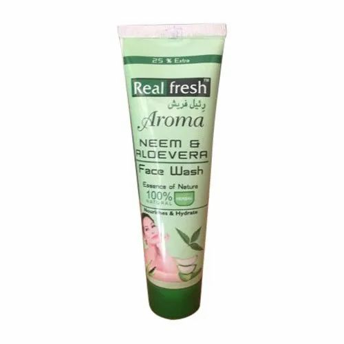 Neem And Aloevera Face Wash, Packaging Size: 100g