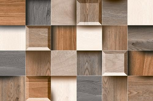 Wood Finish Elevation Tiles : Wal tiles tile design ideas