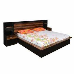 Nilkamal Plum Queen Bed