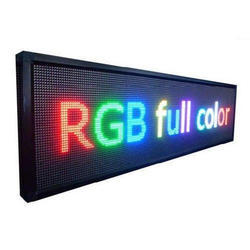 Acrylic LED Sign Board, Shape: Rectangle