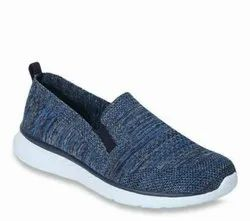HSJ Men Flyknit High Quality Upper Shoe Without Lace Shoe, Size: 7