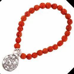 100% Natural Rudraksha Beads Charm Bracelet