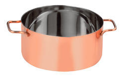 Mini SS Casserole Copper Coated