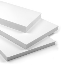 Pinnacle White PVC Foam Board Sheet, For Furniture, Thickness: 18mm