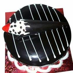 Peachy Dark Chocolate Birthday Cake L Saurav Fast Funny Birthday Cards Online Necthendildamsfinfo