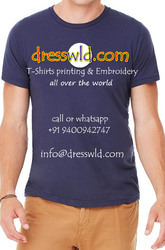 Cotton , Polyester Tshirts Printing