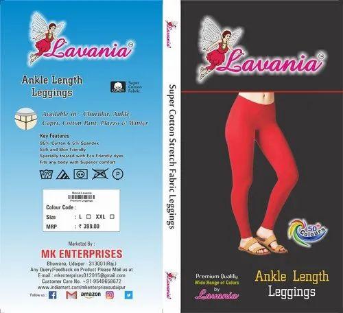 3db979280fe335 Super Cotton Lavania Ankle Leggings, Size: Large & Xxl, Rs 165 ...