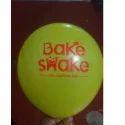 Bake Swake Advertising Printed Balloon