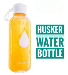 500 ML Husker Drink More Water Bottle