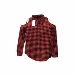 Ladies Cotton Full Sleeve Shirt, Size: L & XL